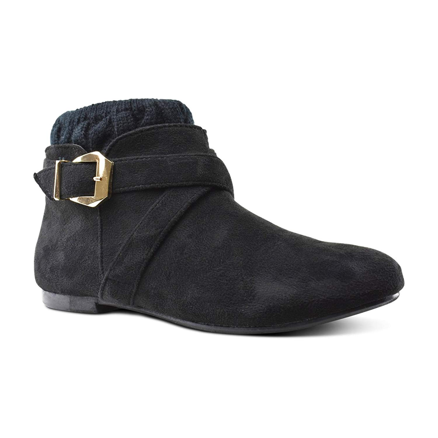 41f140fa0 Get Quotations · Premier Standard Low Heel Ankle Boot - Casual Zip Up Bootie  - Comfortable Everyday Round Toe
