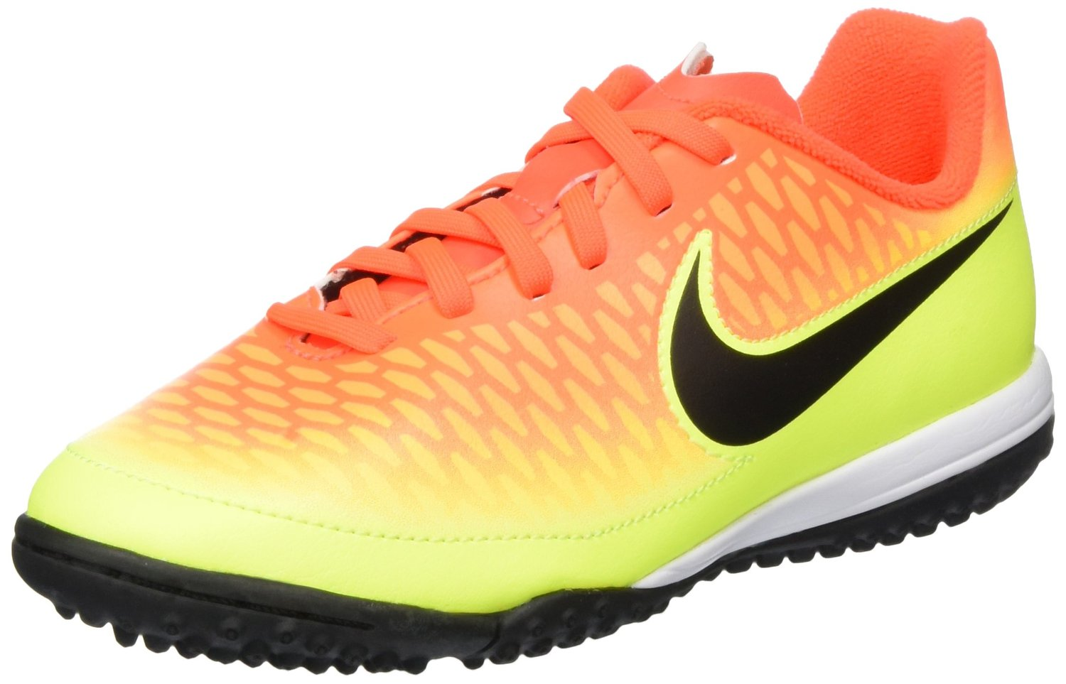 premium selection 5904b 0fbe1 Get Quotations · Nike Junior Youth Turf Soccer Shoes Magista Onda FG  Crimson Volt 651657 807 (2)