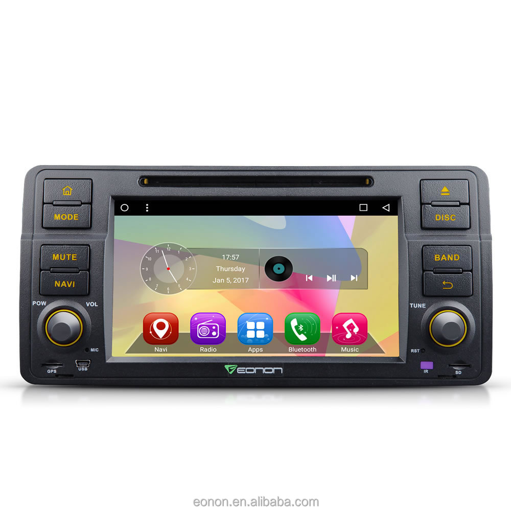 EONON GA7150 for BMW E46 Android 6 0 Quad-Core 7 inch Multimedia Car DVD  GPS with Mutual Control EasyConnection, View GA7150 Android Car Multimedia,