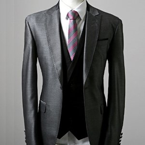 Mens Luxury Firenze Designer Suits (d.gray) Er.su015