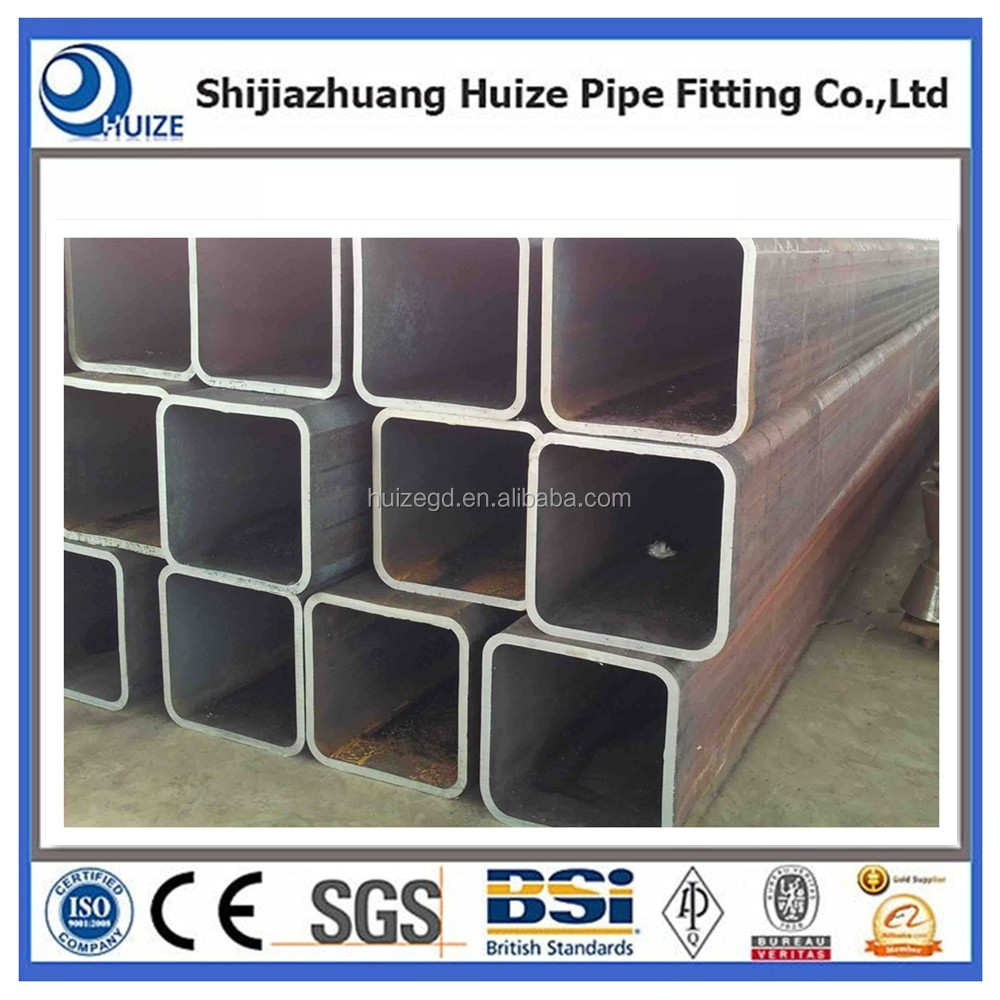 ms square pipe price ms square hollow steel tube /pipe galvanized