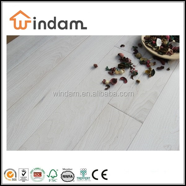 Bleaching wide plank engineered wood flooring oak