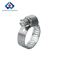 Miniature Worm Gear Distinctive stainless steel exhaust clamp