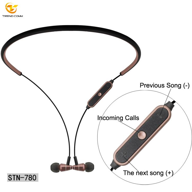 High Quality Headphone In Ear  Wireless Headset Sports Wireless Earphone With Microphone