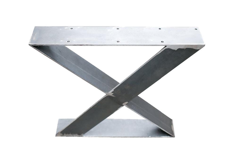 16 zoll flachstahl zx metall holz tischbein eisen tisch. Black Bedroom Furniture Sets. Home Design Ideas