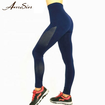 AMESIN YLP053 Push-Up Nahtlose Fitness Yoga Workout Leggings