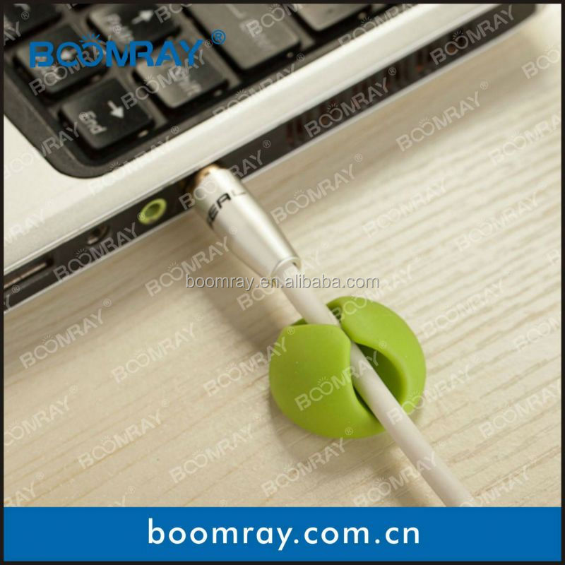 6Pcs Multi-purpose Cord Wire Cable Drop Clip Holder For Laptop Notebook PC paddington bear power bank