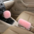 Genuine Sheepskin dildo Leather Custom Car Led Gear Knob Covers For Car Accessories