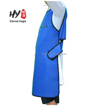 Custom high quality cheap wholesale apron for X-ray lead blue apron