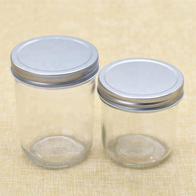 Jam Jar Gift Box White 2 mx 8oz//190ml jars