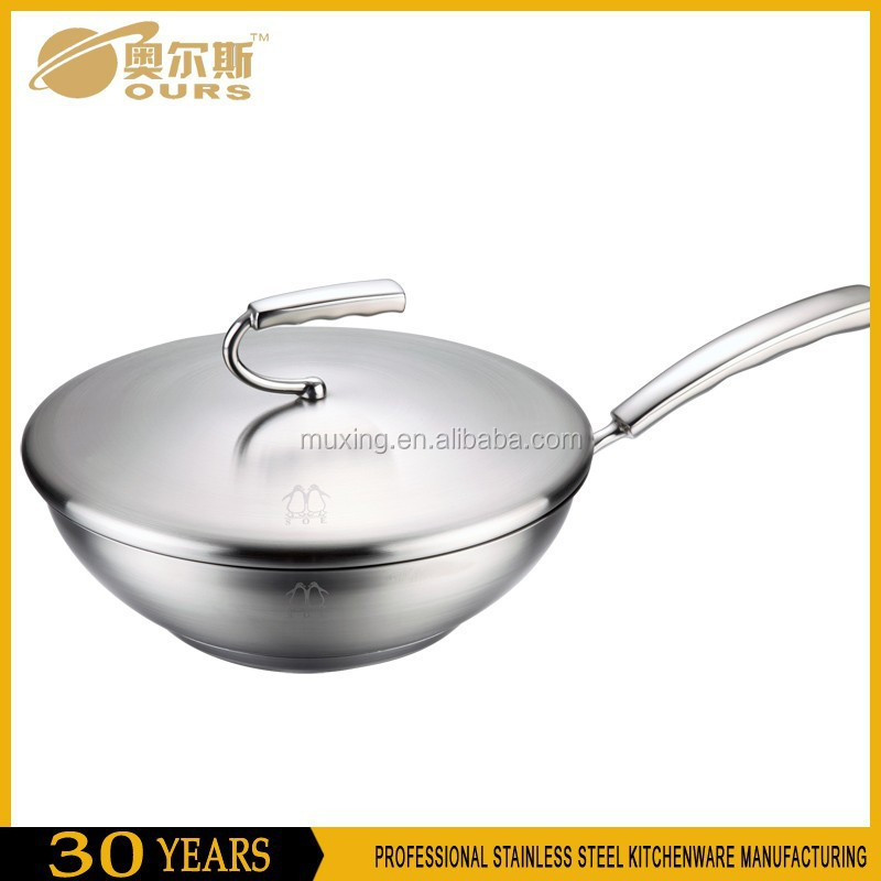 High Quality Decorative Cookware Fat Free Frying Pan
