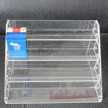 4 Tier Acrylic Overhead Cigarette Rack