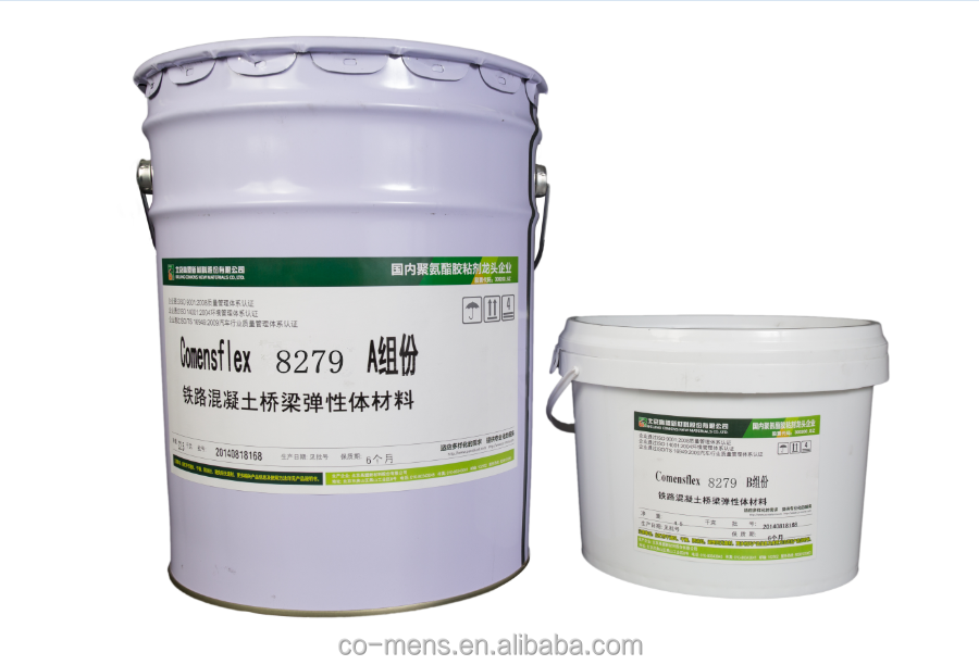 Comensflex 8266 N Good Thixotropy Two-Component Polyurethane Resin for Railway/Subway/Air way Joint Caulking