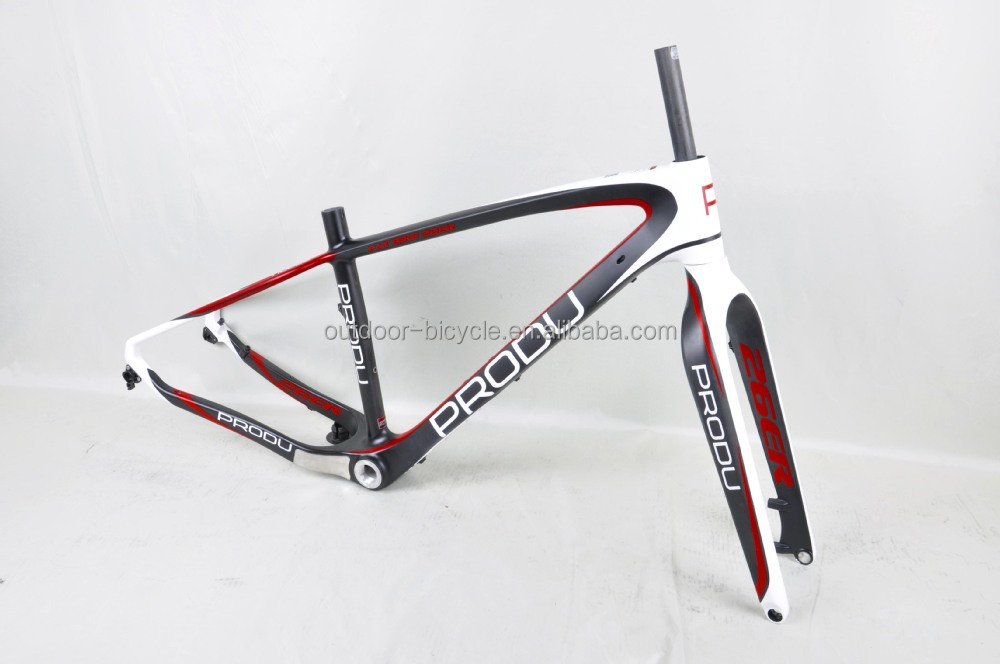 Carbon Beach Bike Frame Carbon Snow Bike Frame Carbon Fat Bike Frame ...