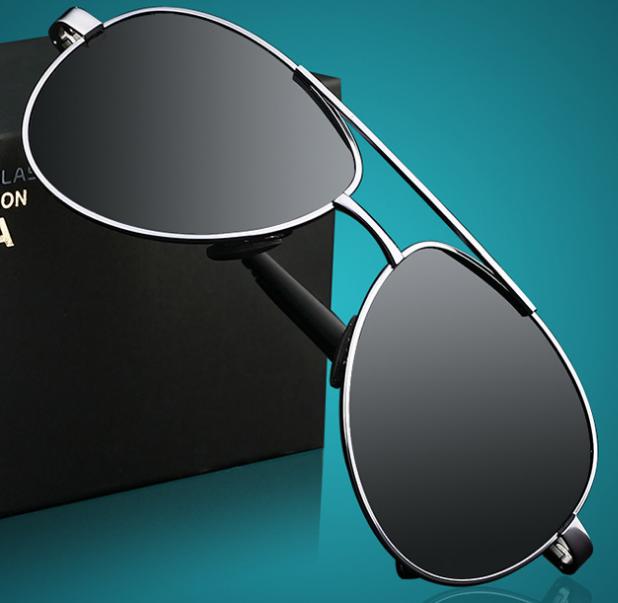 Occhiali da sole 2019 personalizzata rettangolare occhiali da sole polarizzati a buon mercato occhiali da sole uomo 2462