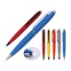 Wholesale advertising original bic ball pen face-book LED light pen for students gifts
