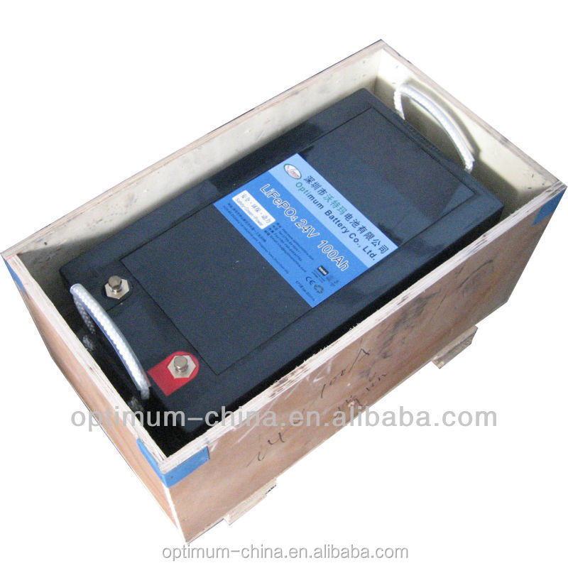 optimumnano rechargeable battery pack 24v 100ah