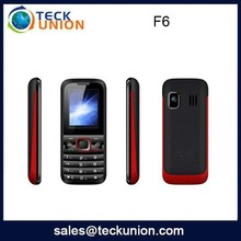 F6 1.8 pollici dual sim fm <span class=keywords><strong>wireless</strong></span> mobile phone classic style cell phone