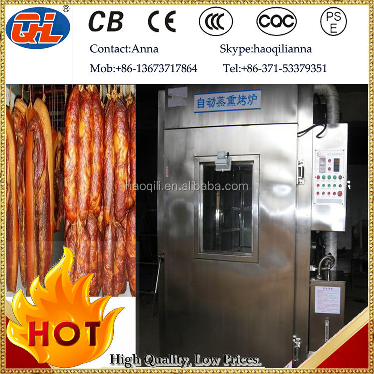 China Professional Supplier Industrial Smoker Oven|sausage Smoking ...