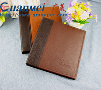 GuanMei PU Leather Cover Post Bound PP Photo Album With 4R 2up 50 Sheets