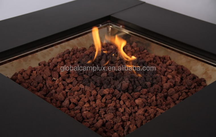2015 Hot Selling Gas Fire Pit With Lava Rock View 2015