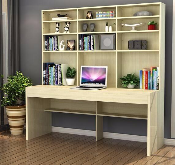 2017 computer tafel bureau combinatie van bureau boekenkast