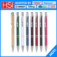 stationery customized logo promotional machinery cross ballpoint pen stylo bille