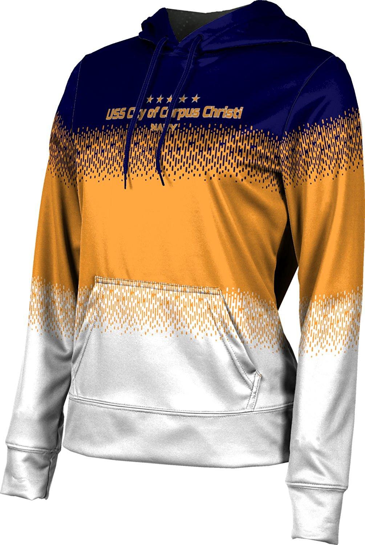 Girls' USS City of Corpus Christi Military Drip Hoodie Sweatshirt (Apparel)