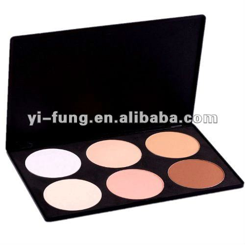 NEW 6 Color Contour Face Powder Makeup Blush Palette
