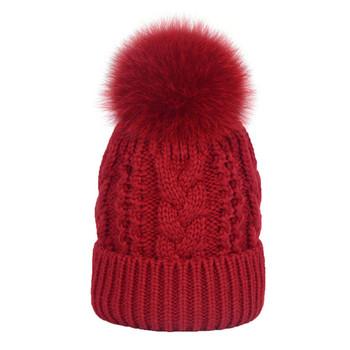 Crochet Cap Gorro De Lã Patch De Couro Personalizado Masculino - Buy ... 3a9b1385051