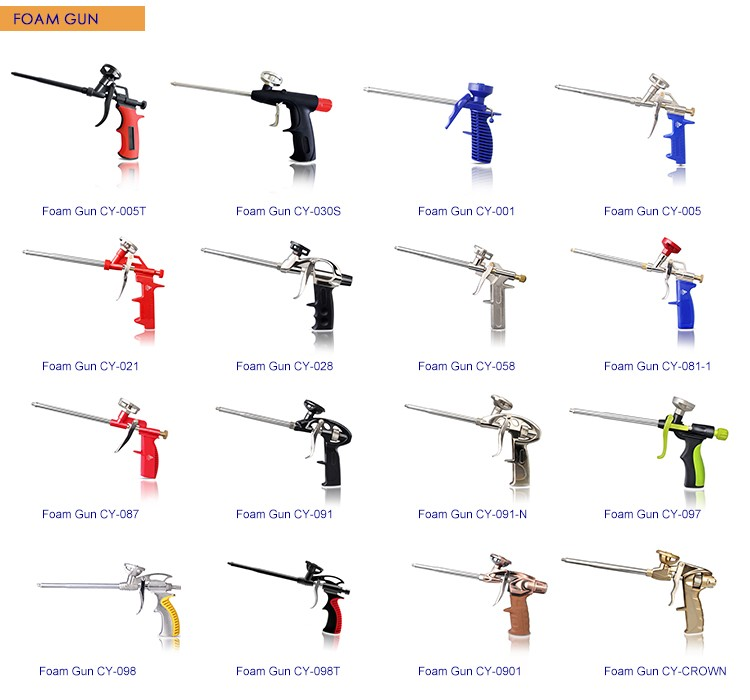 hand tool names. power hand tools made in china for building construction cy-001 cheap plastic foam gun tool names u