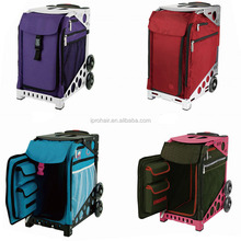 New Type Large Professional Portable Canvas Case Trolley Caster Box Trolley