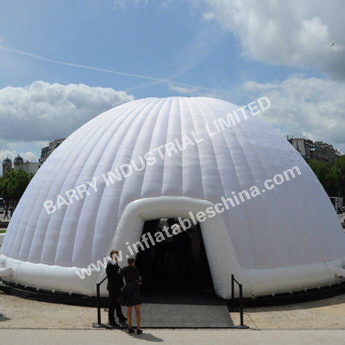 Outdoor inflatable dome tent perfect design