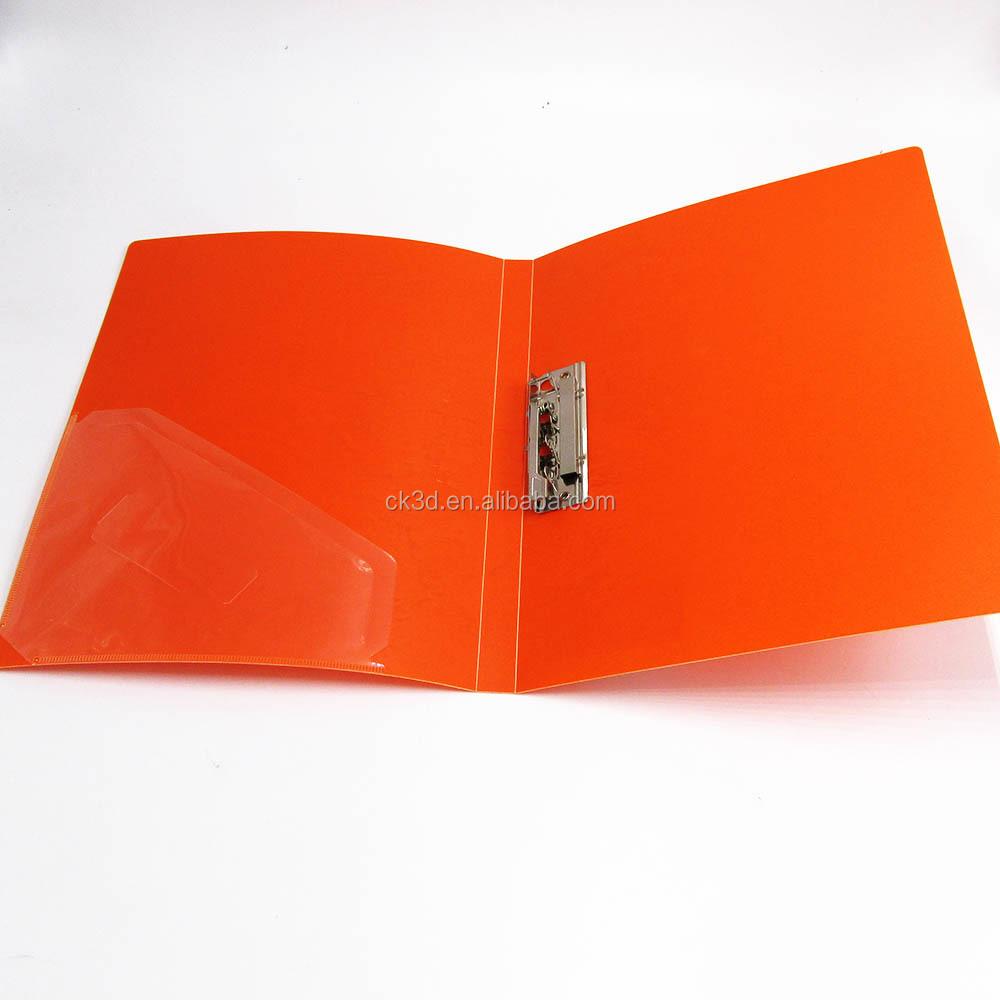 Fabriek clear plastic A4 map vel protectors/bestand houder