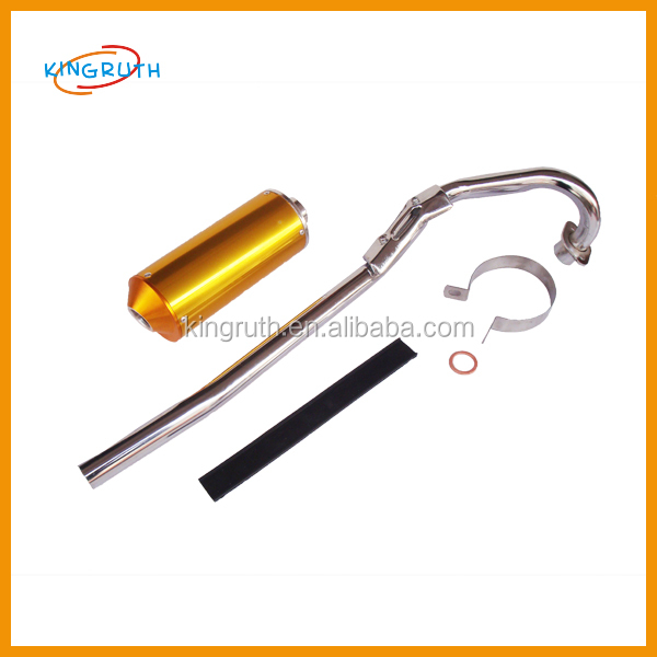 Hot sale China steel performance atv racing exhaust