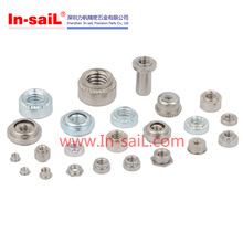 China fastener stainless steel pem nut 4-40