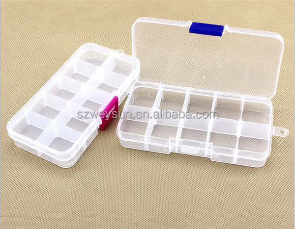 Plastic Plectrum Case Storage Box Small Things Rated
