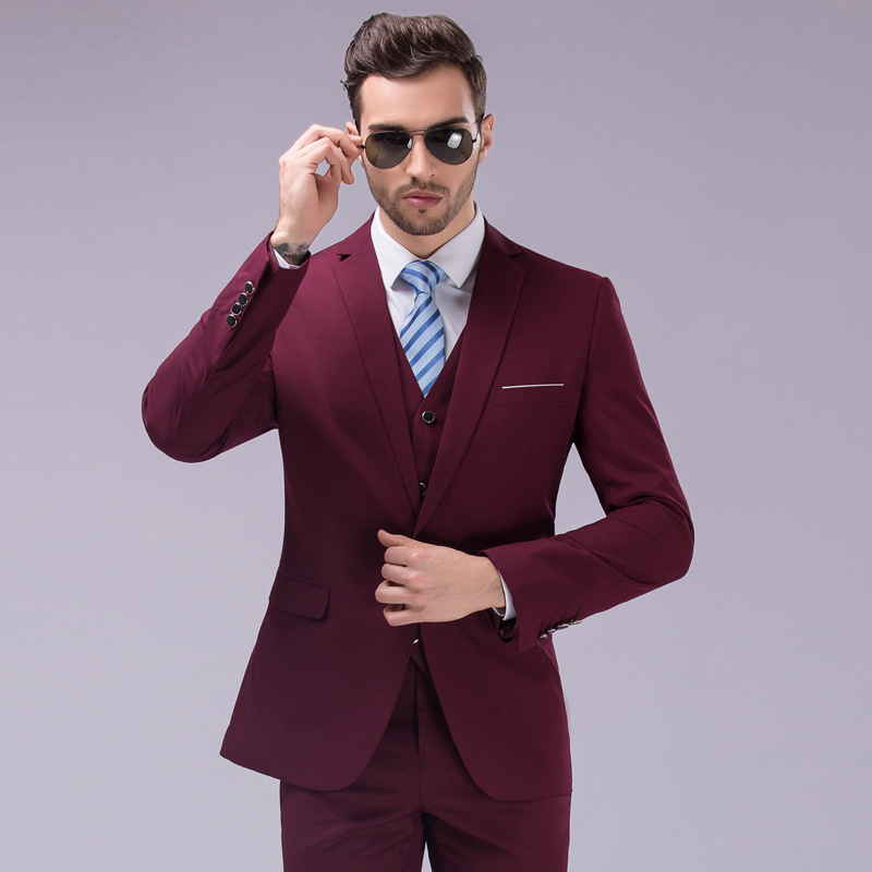 Mens 3 piece suits in wool, seersucker, and other fabrics to keep you looking fashionable. Cheap 3 piece suits with great designer styles and always affordable prices at Clothing Connection Online.
