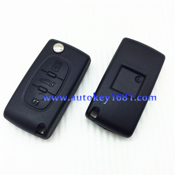 Car Keys For Peugeot 307 3button Remote Control 433mhz With Electric ...