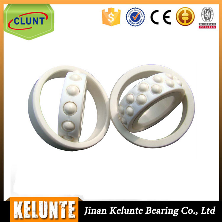 China Factory Plastic Ball Bearing, Plastic Roller Wheel With Bearing, Plastic Coated Bearing