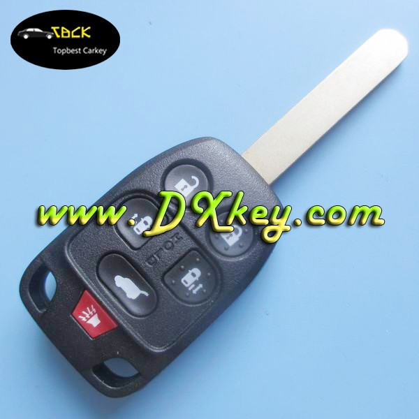 Original car sensor keys 6 buttons car remote control 313.8mhz with Electronic 46 chip remote key clone