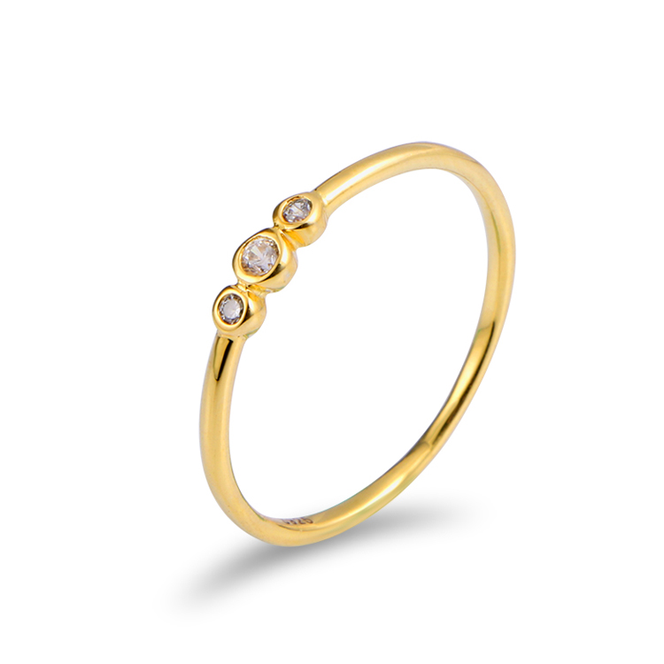 Jewelry Manufacturer China Wholesale New 1 Gram Gold Ring Simple