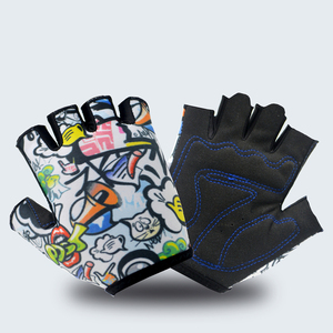 Kids Bike Bicycle Half Finger Gloves Skating Skateboarding Sports glove Child