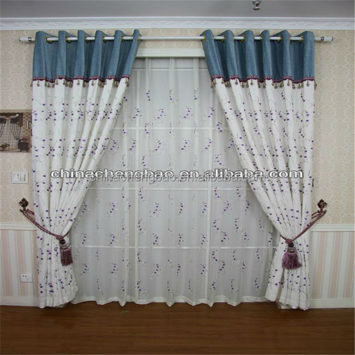 customize wholesale 100% polyester curtain fabric names