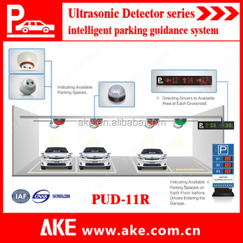 2015 Car Parking Guidance System With Ultrasonic Sensor And Led ...