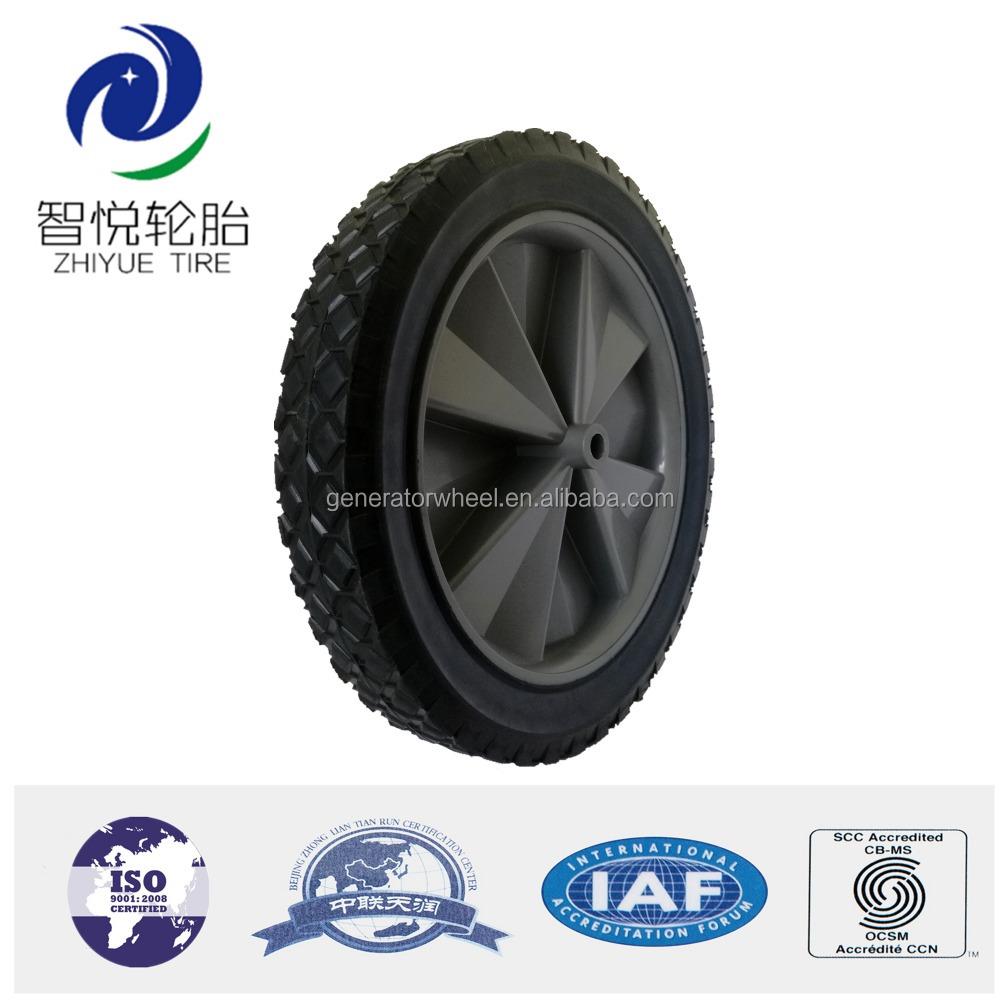 green heavy dump poly duty xj cart wheels fdw barrow garden itm wheel yard utility