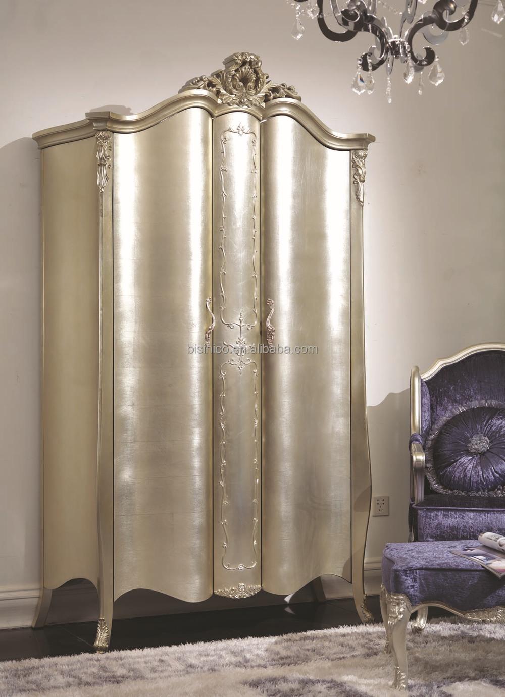 Bisini New Classical Furniture Solid Wood Champagne