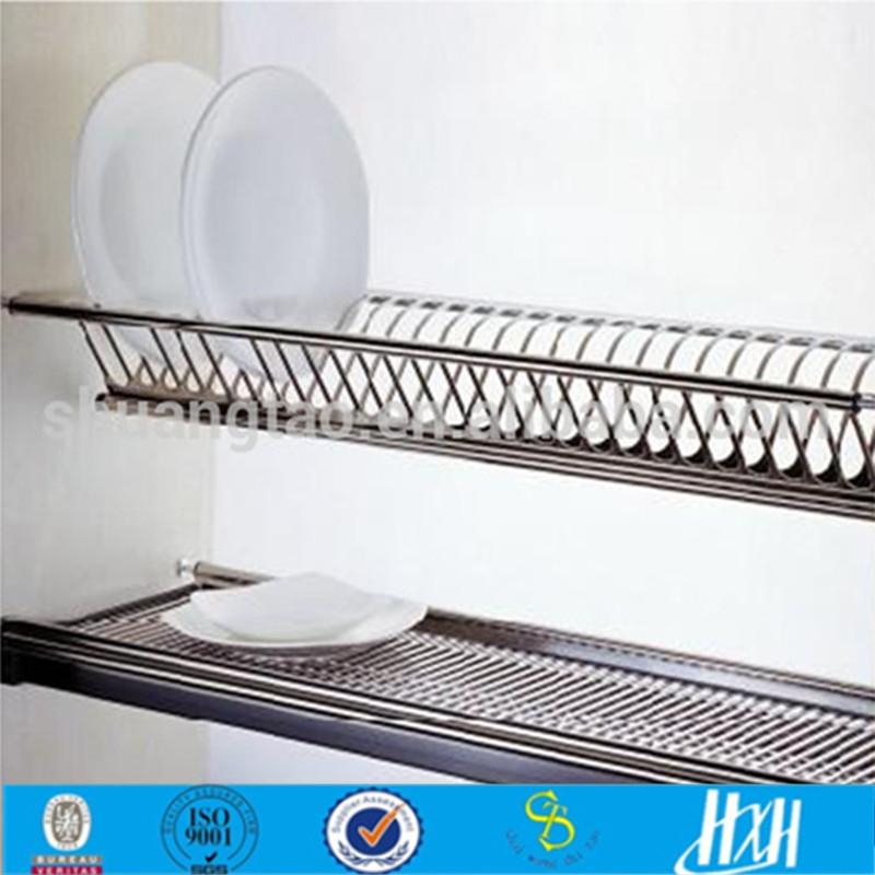 Kitchen Cabinet Stainless Steel Dish Rack