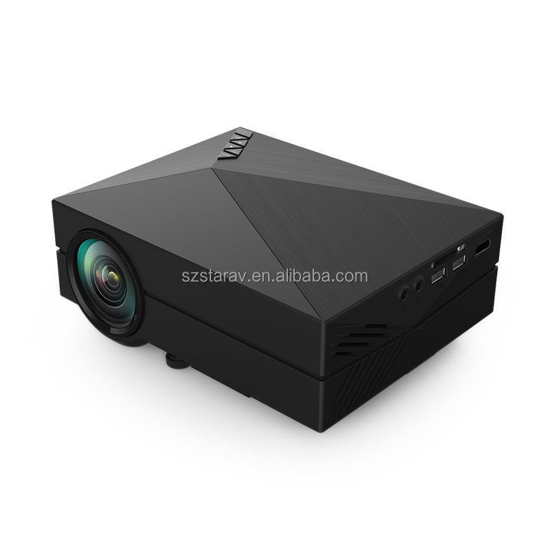 Home Theater Projector HDMI VGA Chinese av video projector price GM60 presenter
