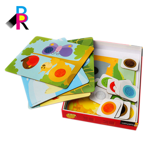 Wholesale China Supplier Children Learning 3D Flash Playing Cards Custom